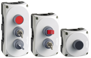Wireless pushbutton switches sWave.NET® RF BF 74  3er Gruppe 1MB